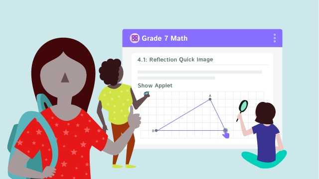 The Kiddom Student Experience for Open Up Resources Math