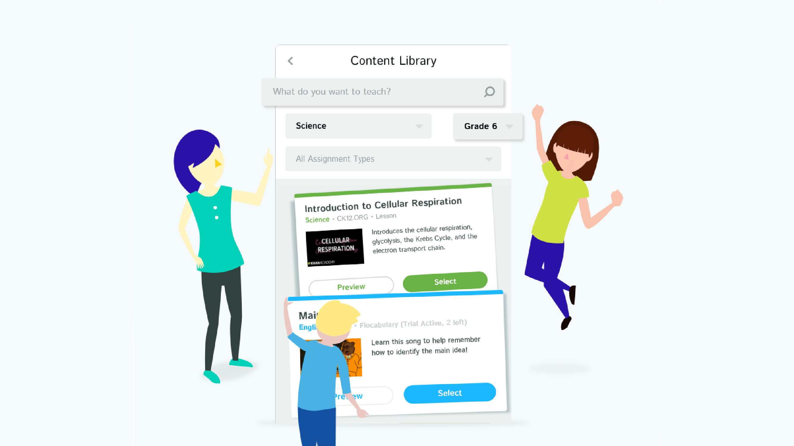 Find Resources: Content Library (10 mins)