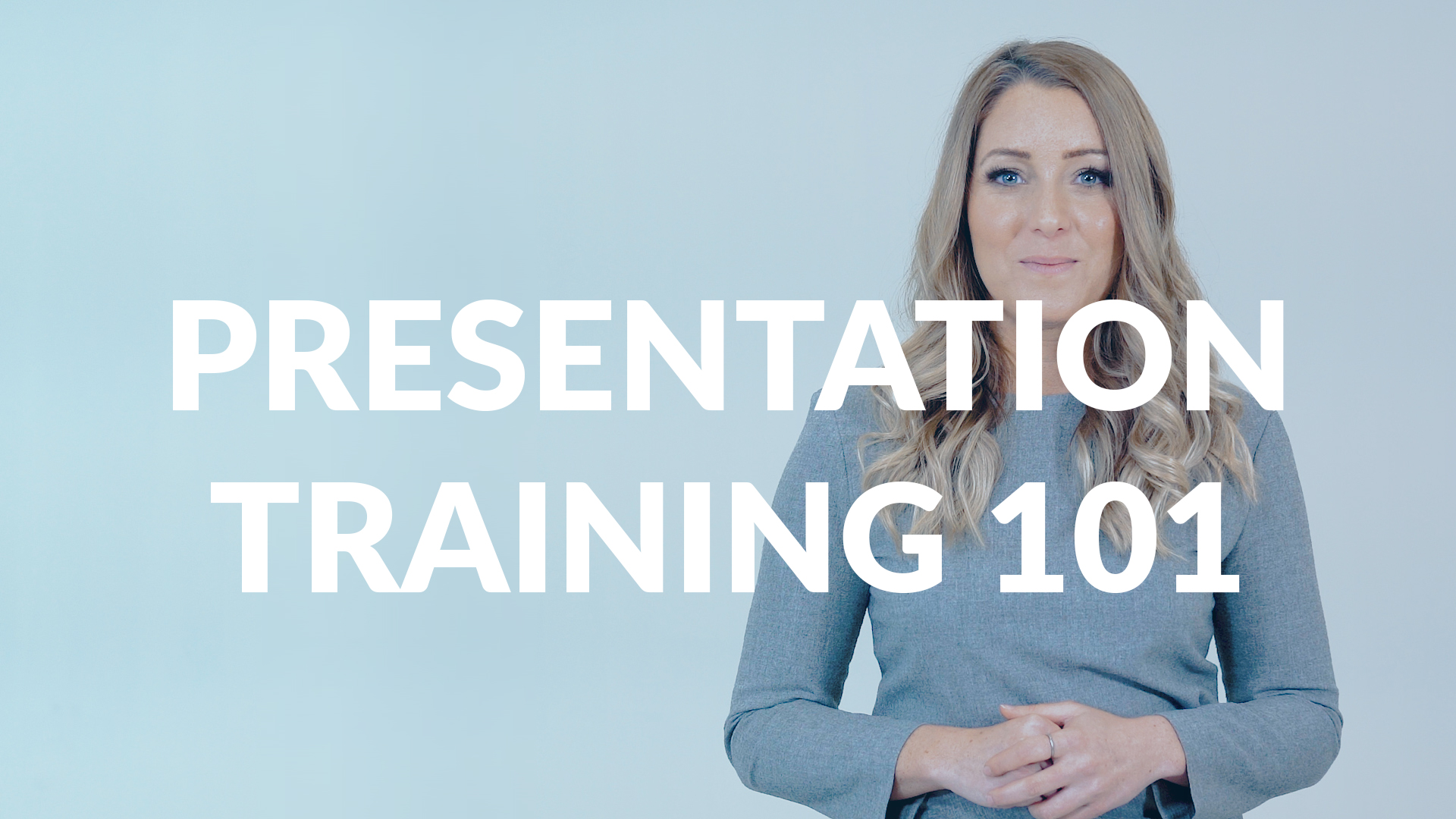 Presentation Training 101