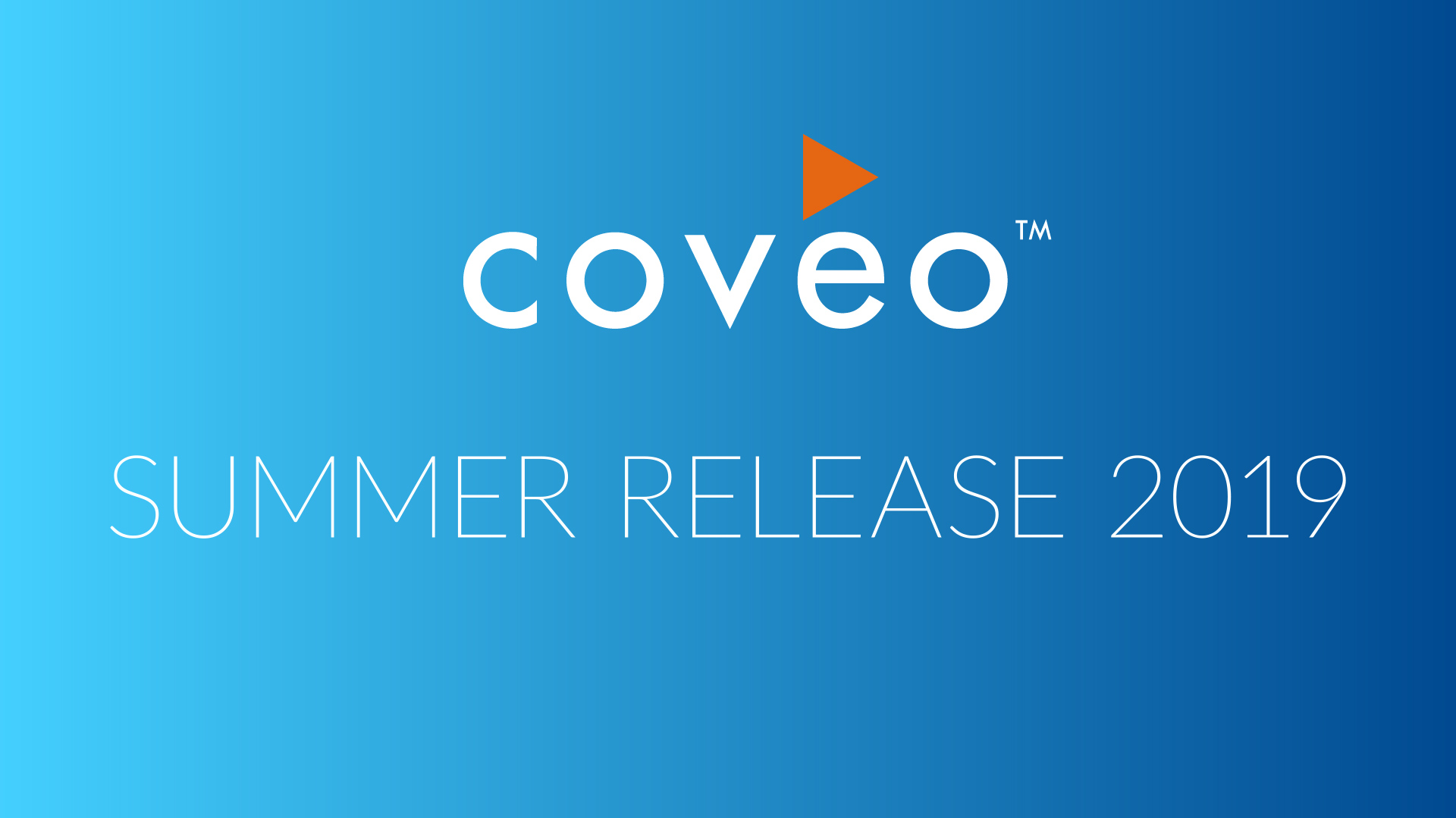 Coveo For Salesforce Summer '19 Release