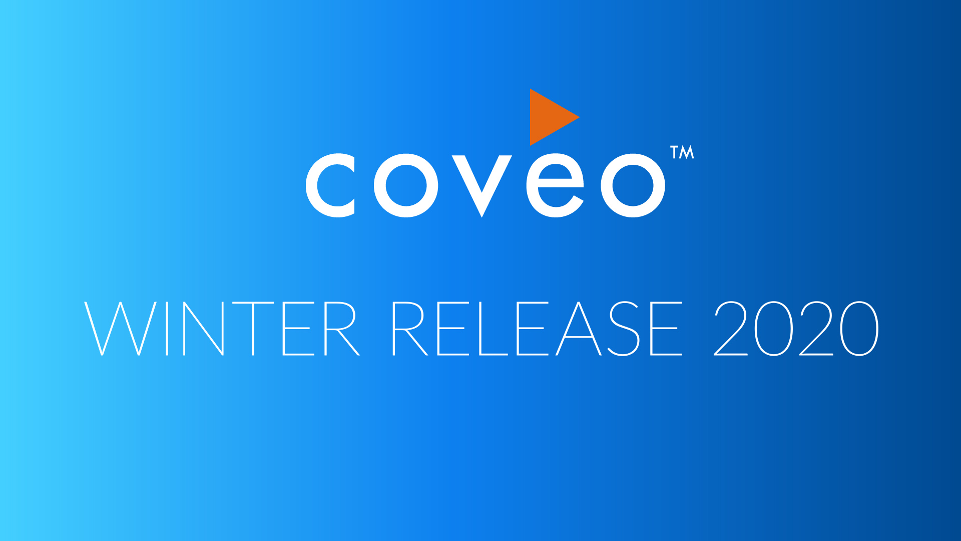Coveo For Salesforce Winter '20 Release