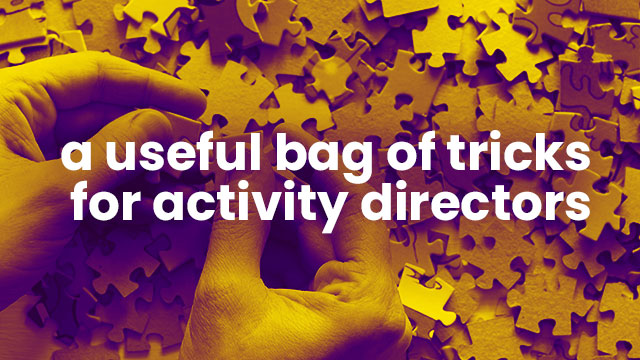Products Every Activity Director Needs