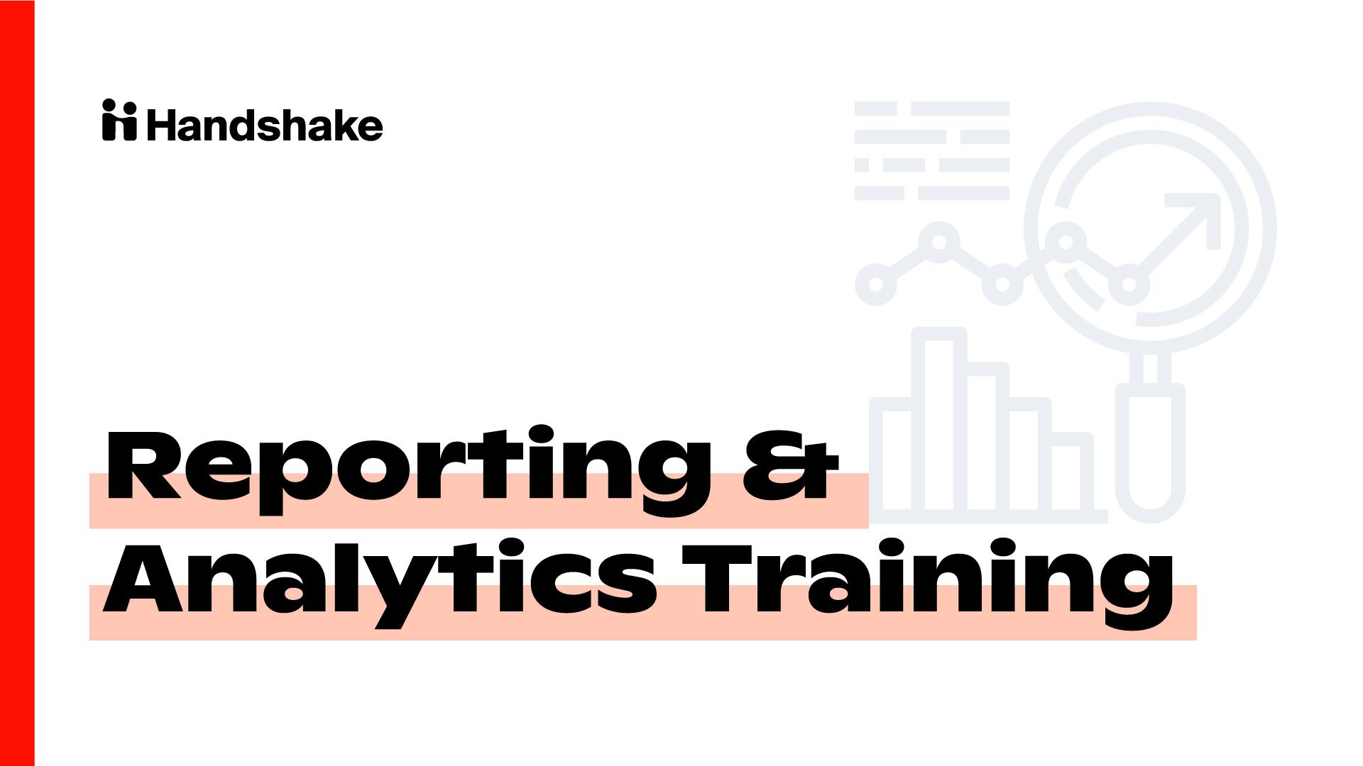 Reporting & Analytics Training