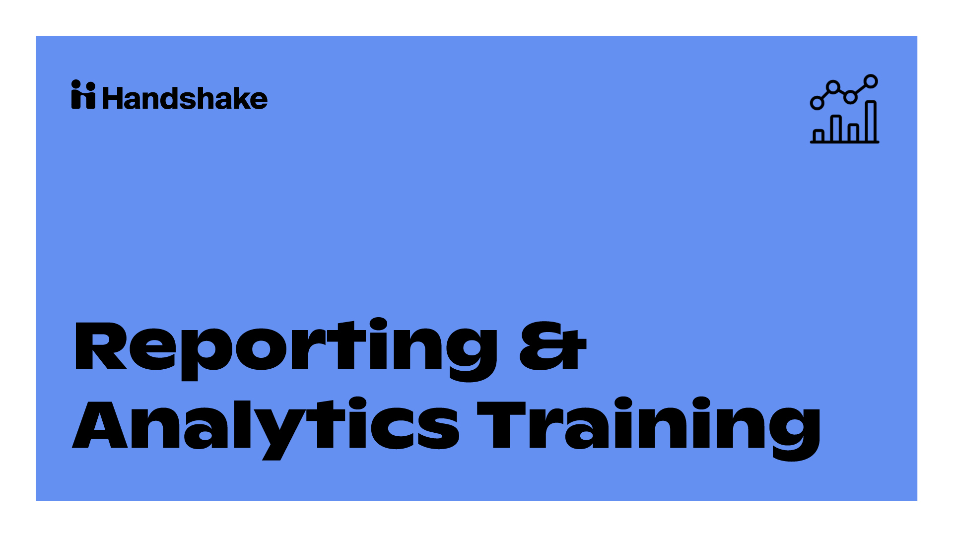 Reporting & Analytics Training