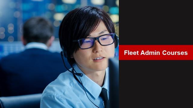 Verizon Connect Fleet Admin Courses