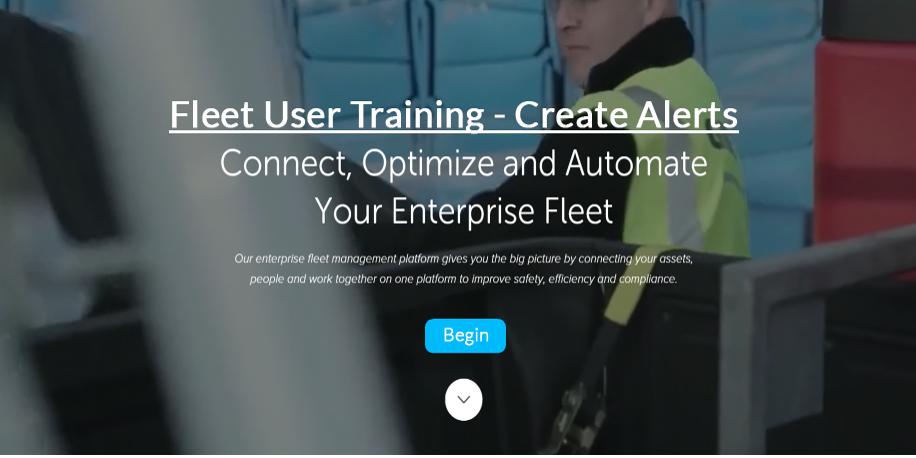 Fleet User - Create Alerts