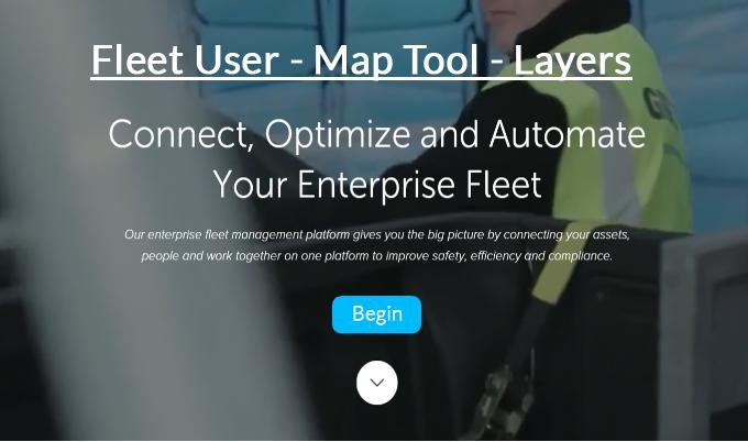 Fleet User - Map Tool - Layers