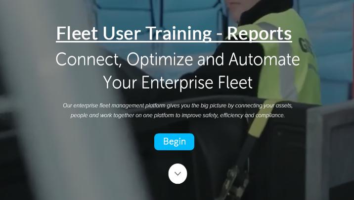 Fleet User - Reports