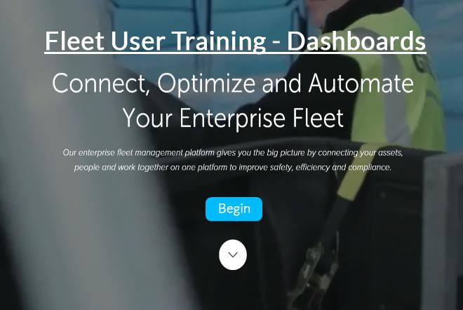 Fleet User - Dashboards