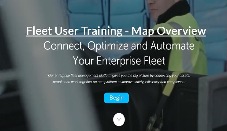 Fleet User - Map Overview