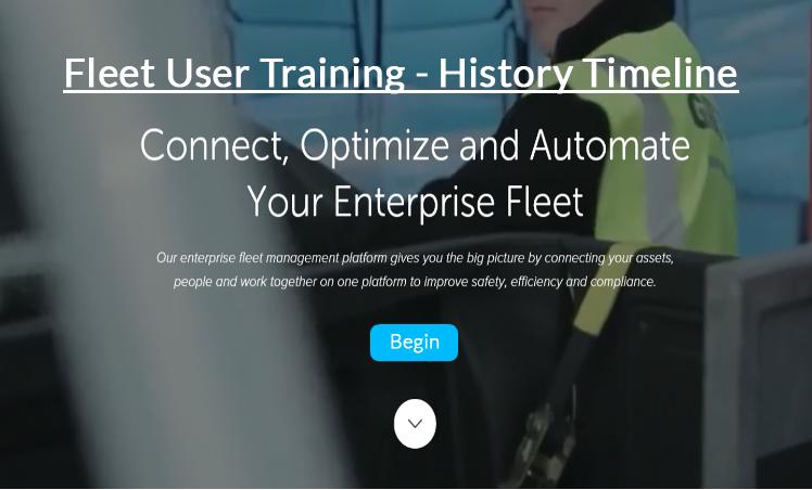 Fleet User - History Timeline