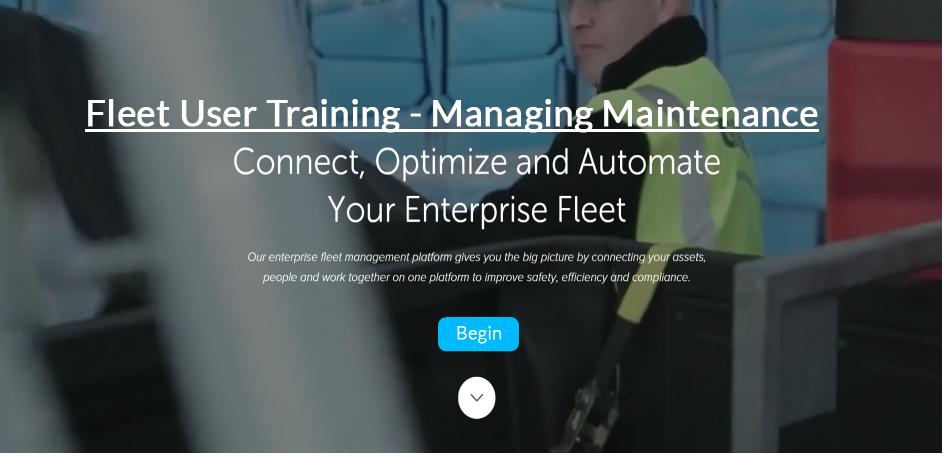 Fleet User - Managing Maintenance