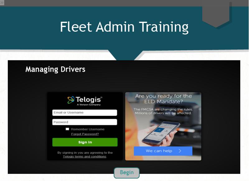 Fleet Admin - Managing Drivers