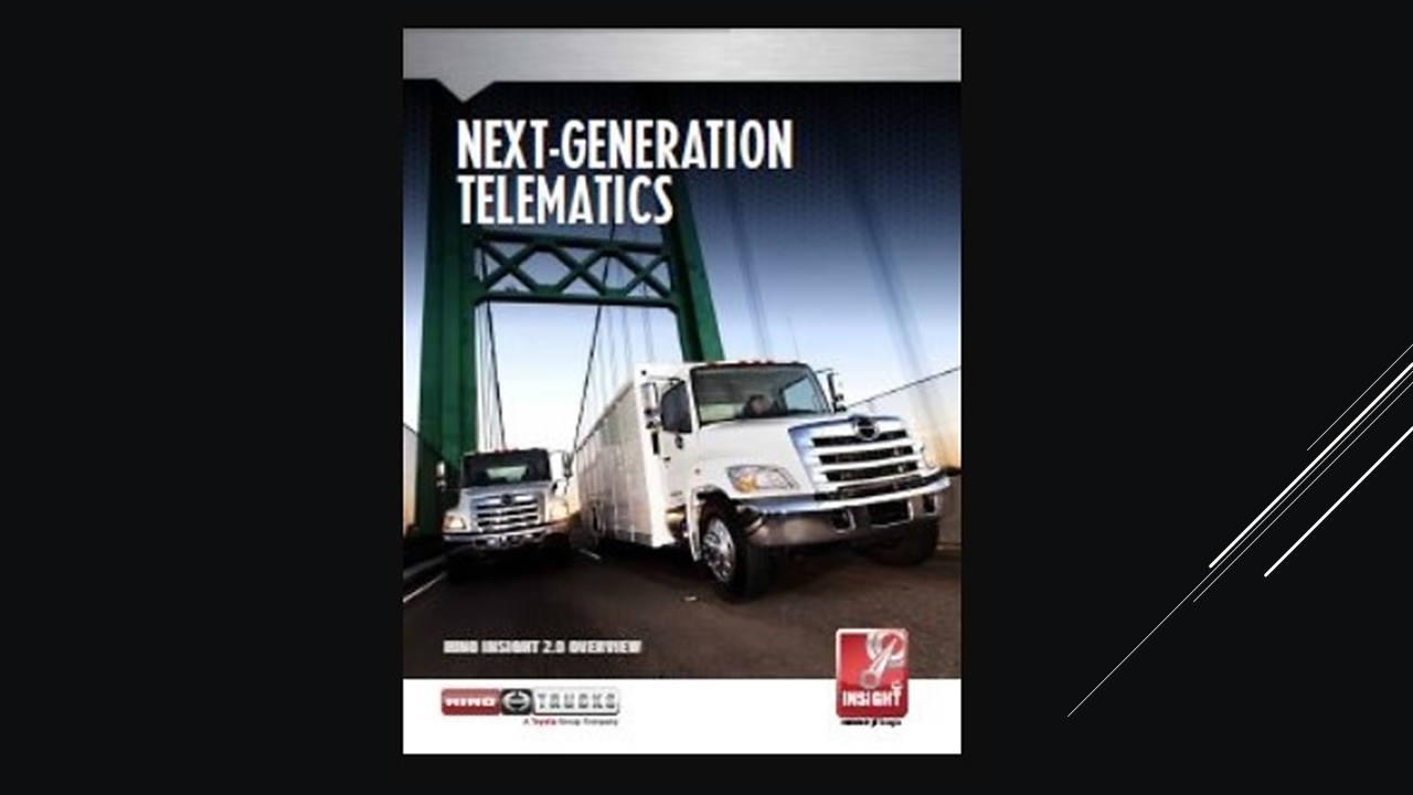 Hino Insight Fleet Features
