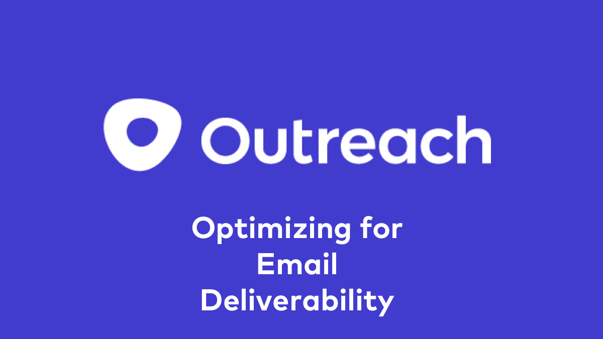 Optimizing for Email Deliverability