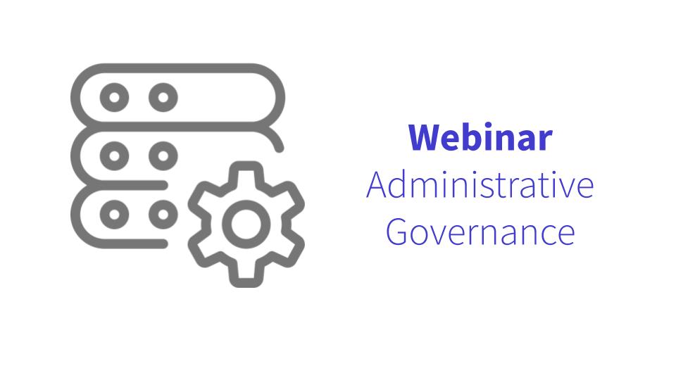 Administrative Governance
