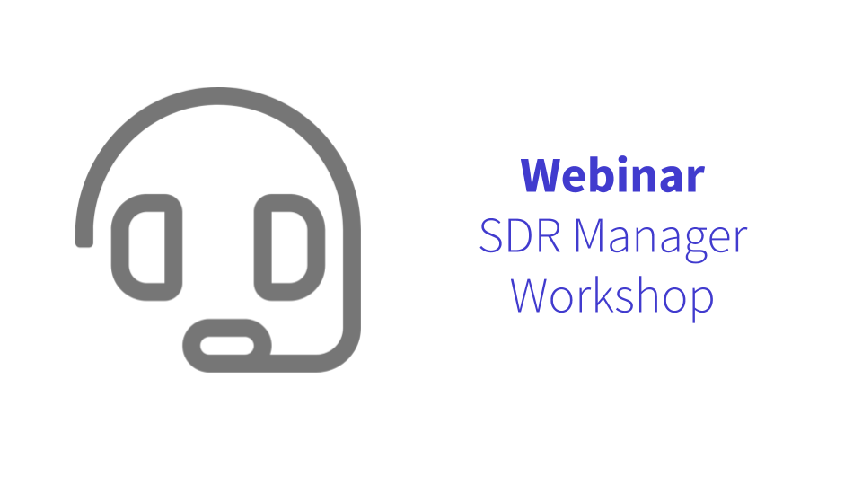 SDR Manager Workshop