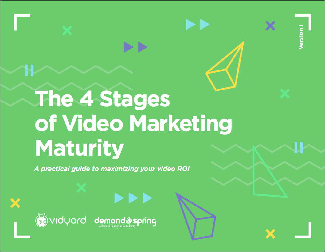 The 4 Stages of Video Marketing Maturity