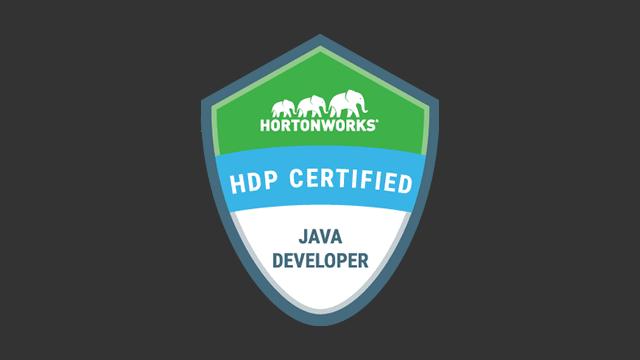 HDP Certified Java Developer (HDPCD:Java) Exam