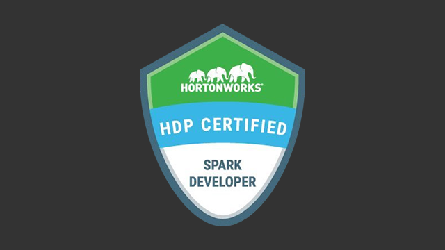 HDP Certified Spark Developer (HDPCD: Spark) Exam
