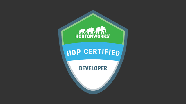 HDP Certified Developer (HDPCD2019) Exam