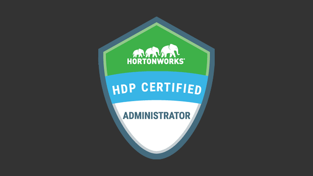 HDP Certified Administrator (HDPCA) Exam