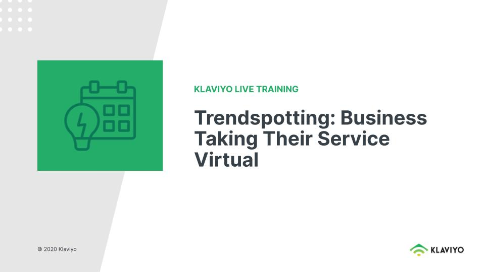 Marketing during COVID-19: Businesses Taking Their Services Virtual
