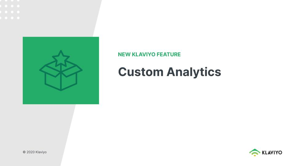 Level Up: Custom Analytics