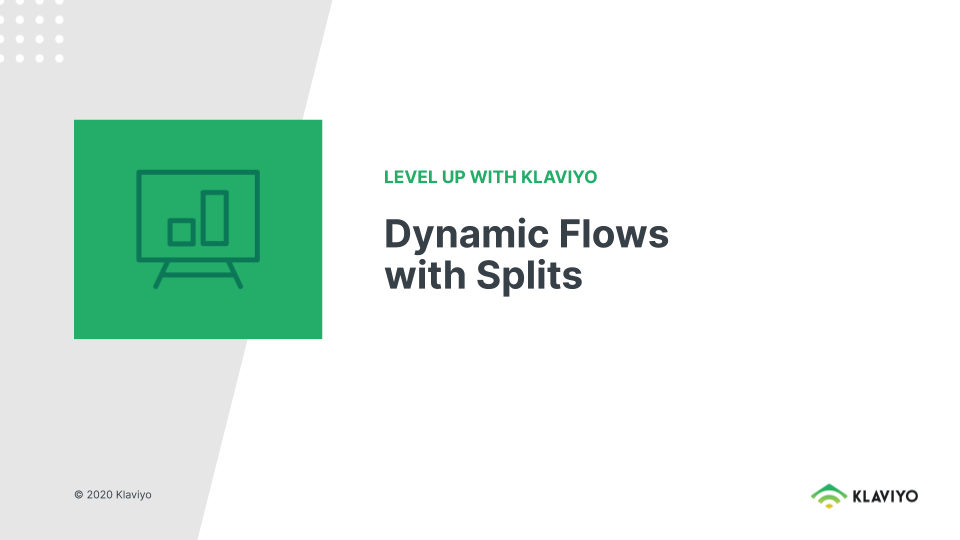 Level Up: Dynamic Flows with Splits