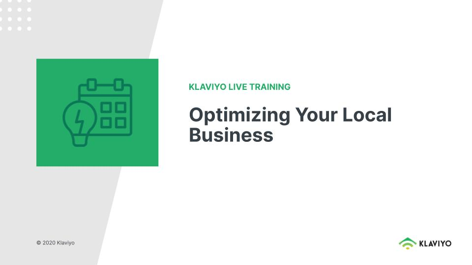 Marketing During COVID-19: Optimizing Your Business to Support Local Customers