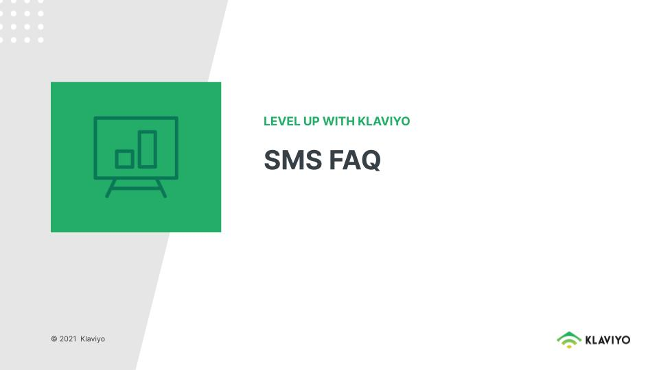 Level Up: SMS FAQ