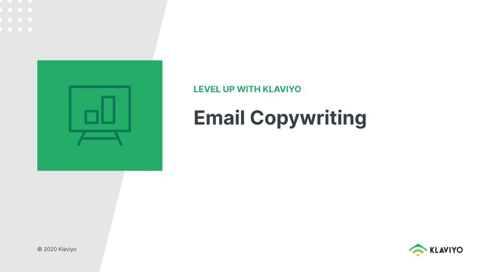 Level Up: Email Copywriting
