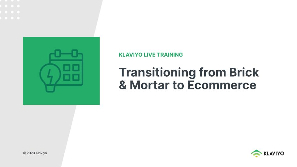 Marketing During COVID-19: Transitioning from Brick and Mortar to Ecommerce