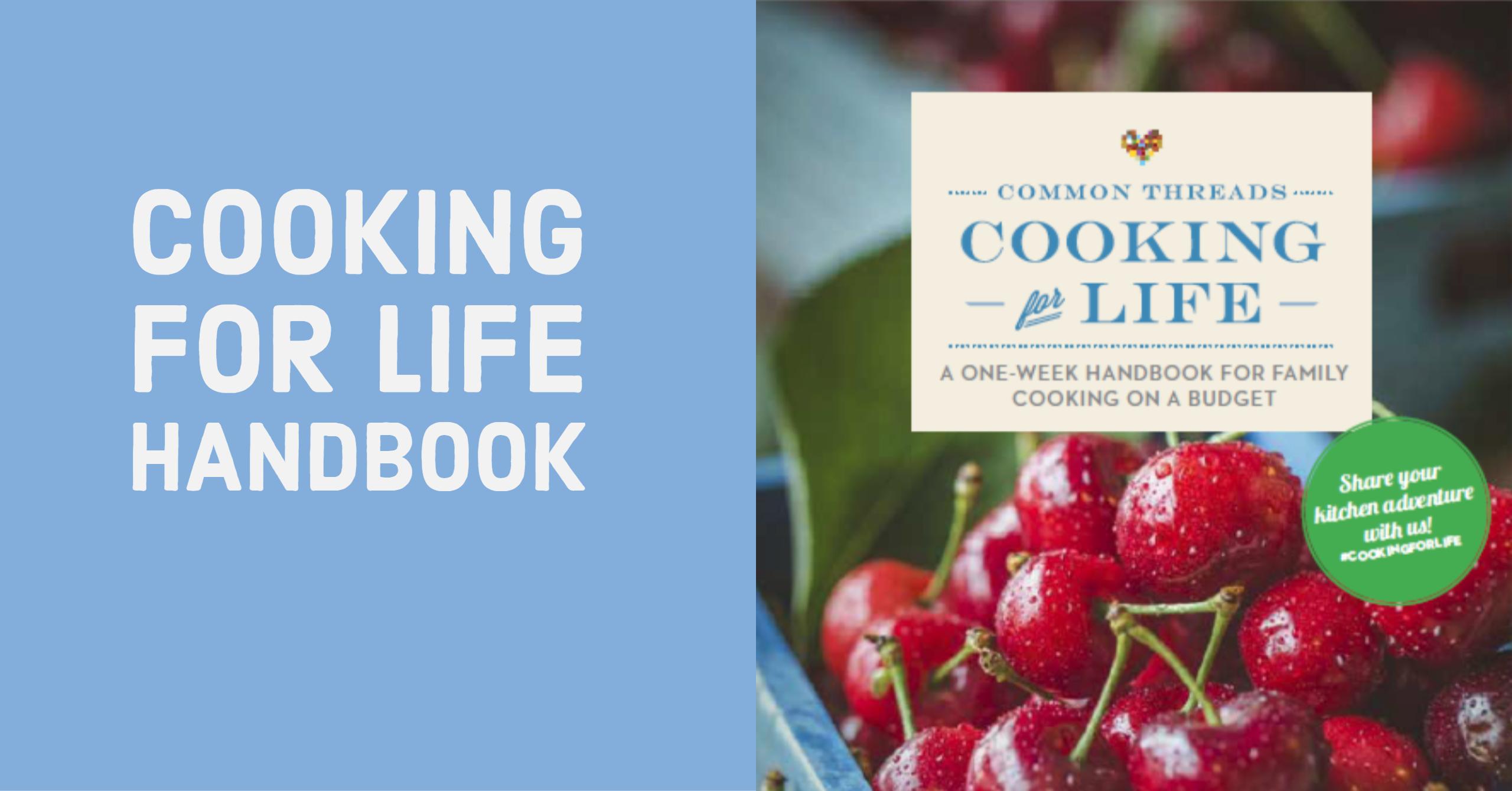 Materials: Cooking for Life Handbook