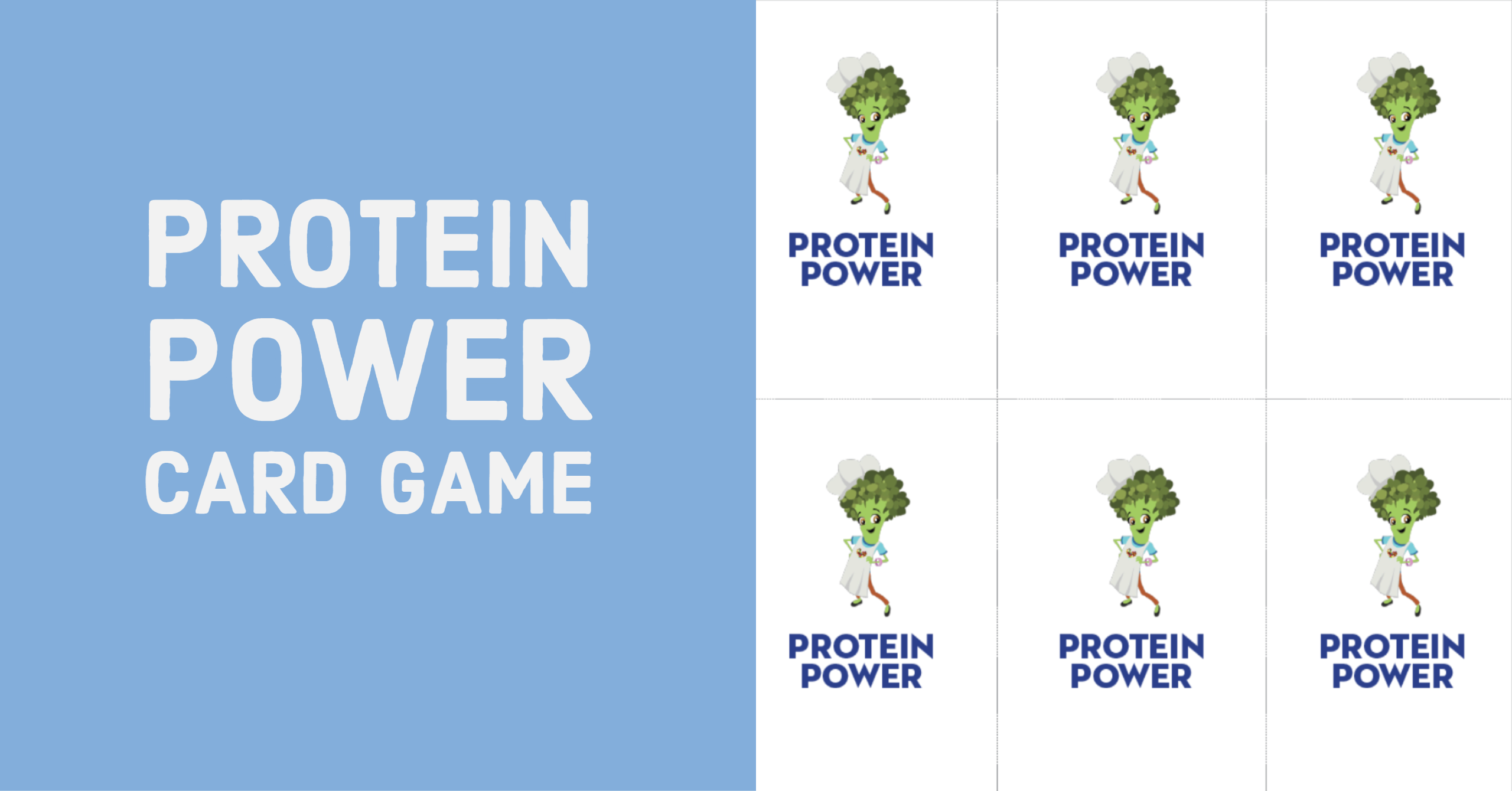 Materials: Protein Power Game