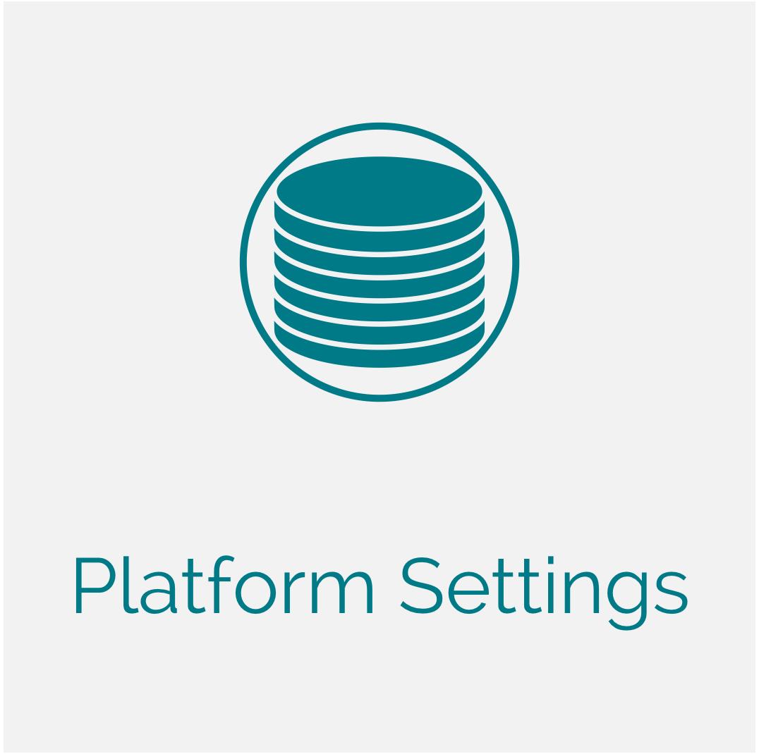 Platform Settings