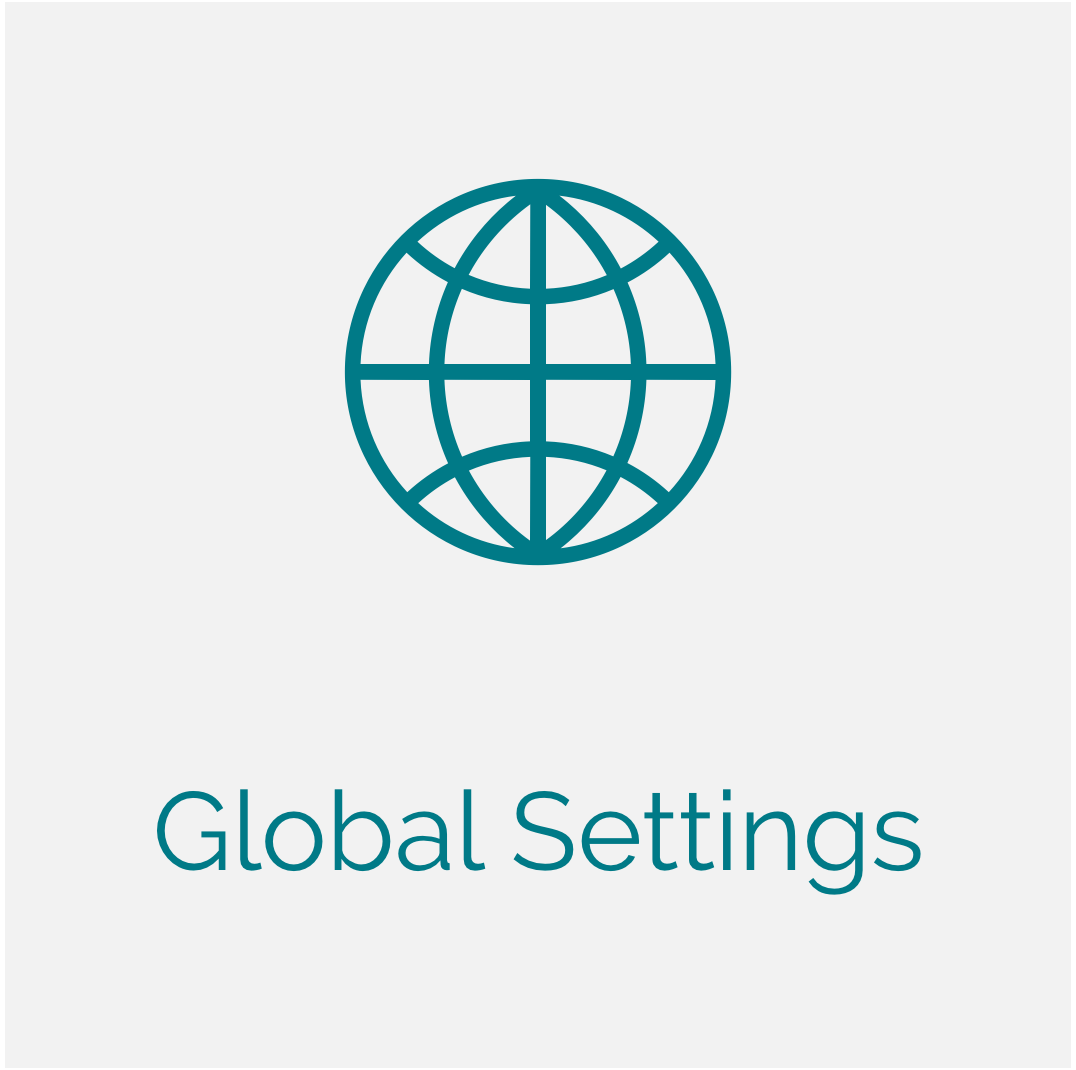 Engagio Global Settings