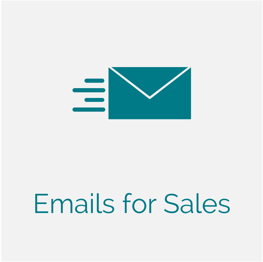 Emails for Sales