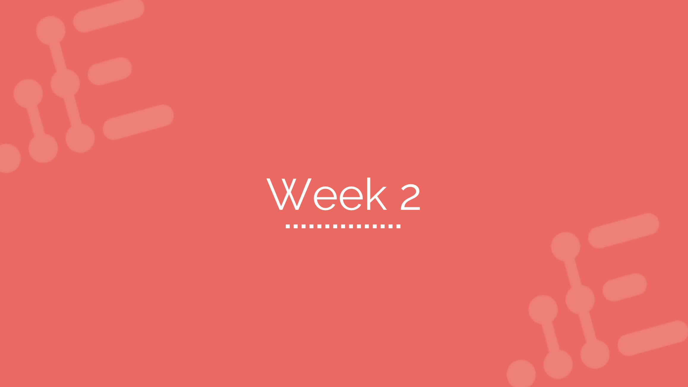Week 2 - Sales, Customer Journey, & Integration