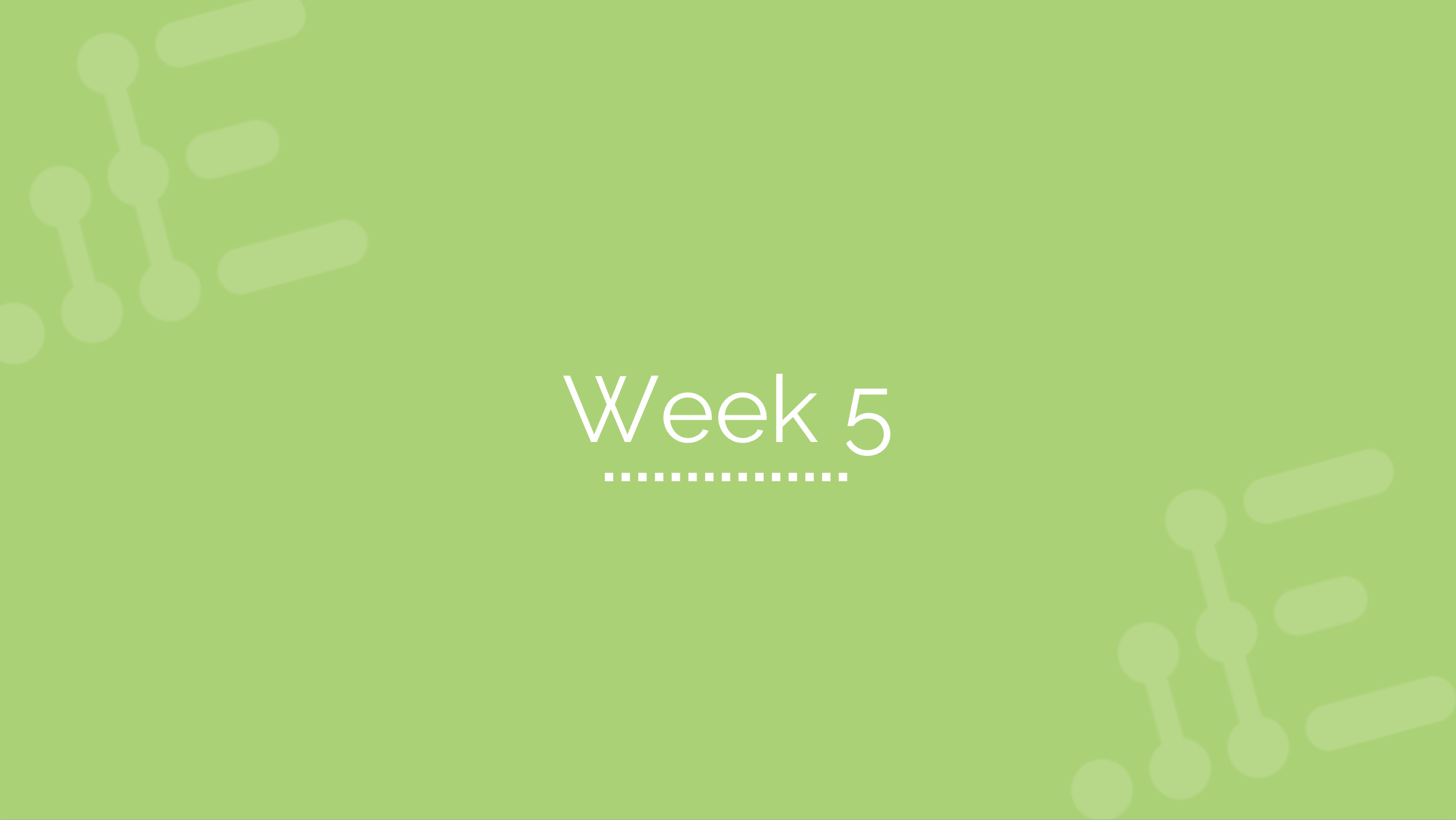 Week 5 - Enablement Phase & Role-play