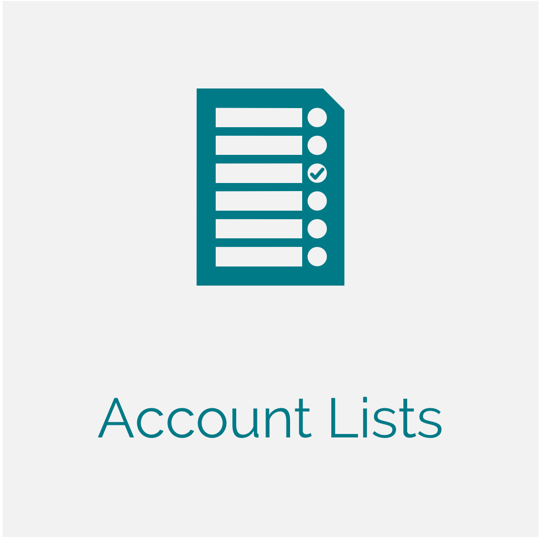 Account Lists