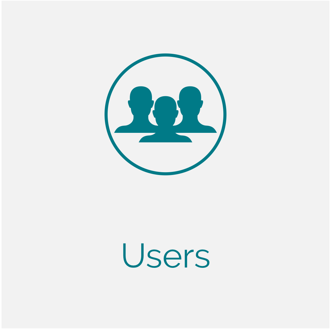 Manage Users and Their Settings