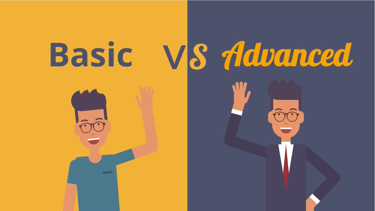 Basic vs. Advanced Study Types