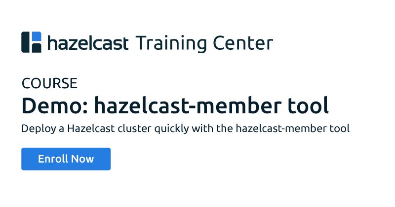Demo: hazelcast-member tool