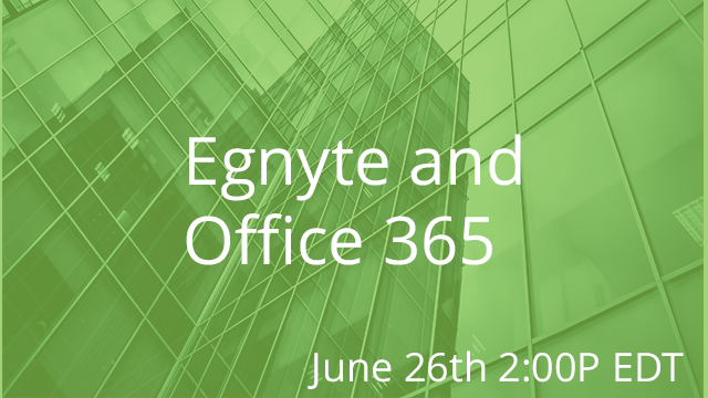 Enabling Your Digital Workplace 06/26/2019 2:00P EST