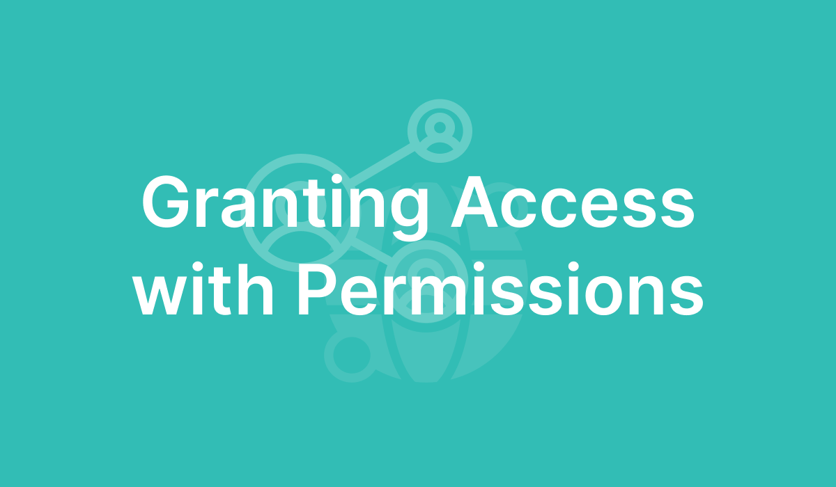 Granting Access with Permissions