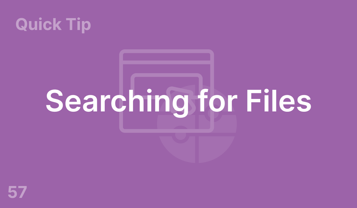 Searching for Files (#57)
