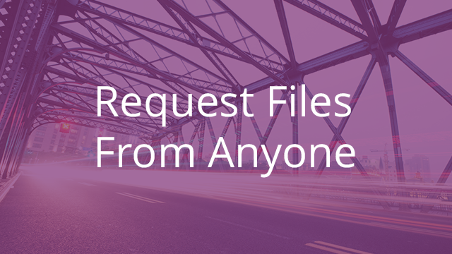 Request Files from Anyone