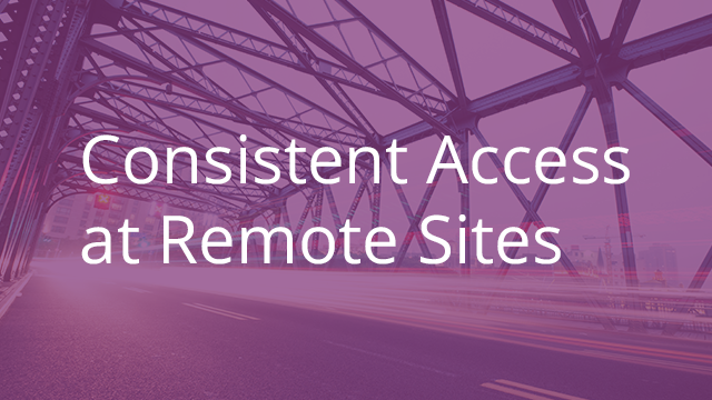 Consistent Access to Content at Remote Sites
