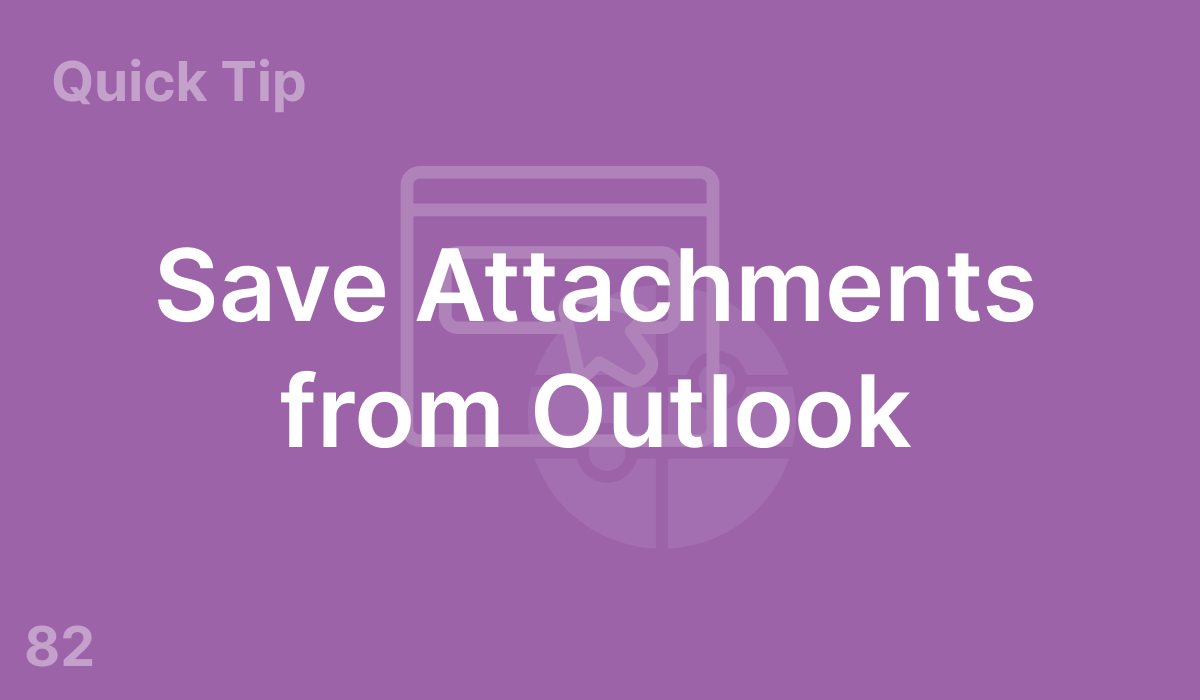 Save Attachments from Outlook (#82)